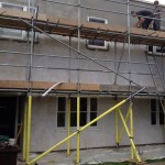 Montpellier House Before Lime Plasterers work